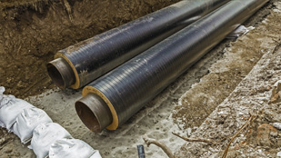 Underground Utility Installation Detroit MI | Sewer/Water Mains, Drain Services | Springline Excavating - utilities1