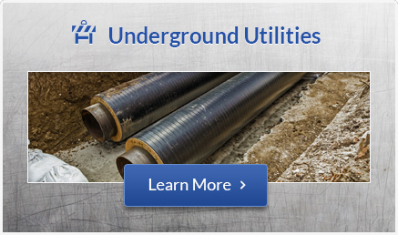 Underground Utility Installation Detroit MI | Sewer/Water Mains, Drain Services | Springline Excavating - utilitiesbutton1